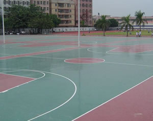 聚氨酯(PU)球场地坪