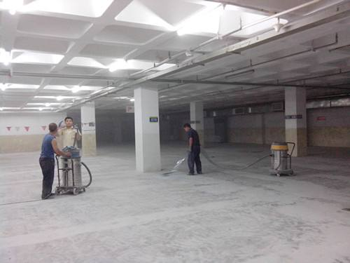 环氧地坪施工前期基面处理
